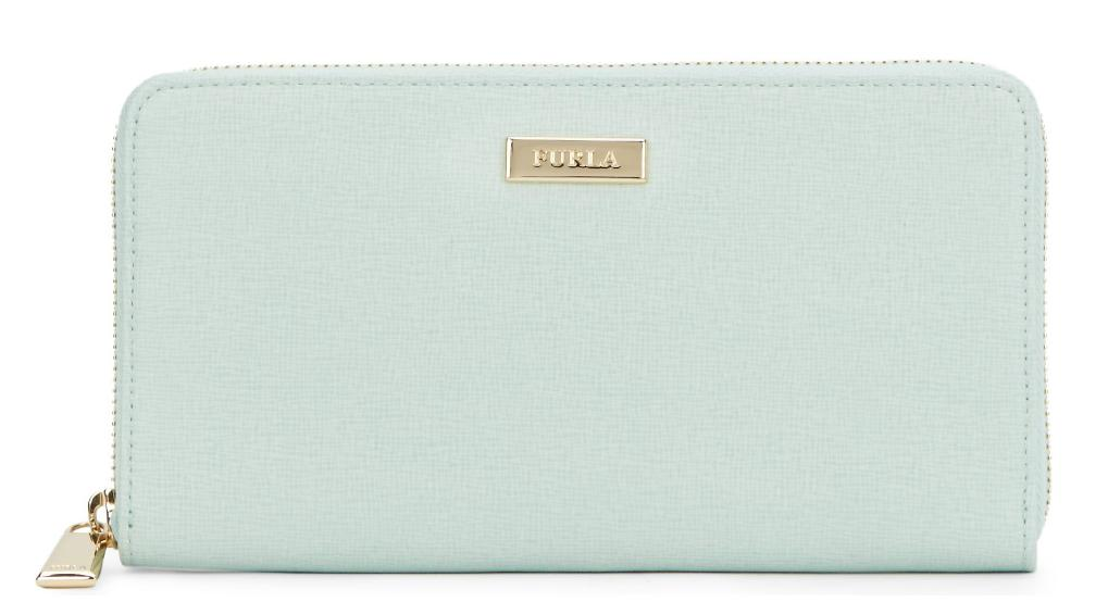 Furla Saffiano Leather Zip-Around Wallet