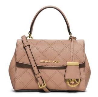 MICHAEL MICHAEL KORS  Ava Extra-Small Saffiano Leather Crossbody