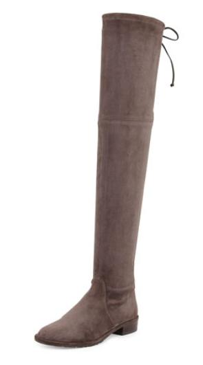 Stuart Weitzman Lowland Stretch-Suede Over-the-Knee Boot, Londra