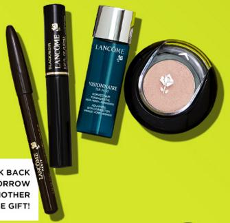 Free 4-pc Gift Set with $85 Lancome Purchase @ Bloomingdales