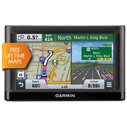 "$79 Garmin nuvi 55LM GPS 5"" Display Navigation System with Lifetime Maps"