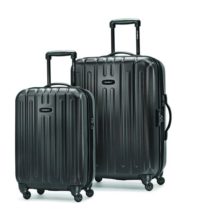 $152.34 Samsonite Altair Expandable Lightweight Two-Piece Hardside Spinner Set