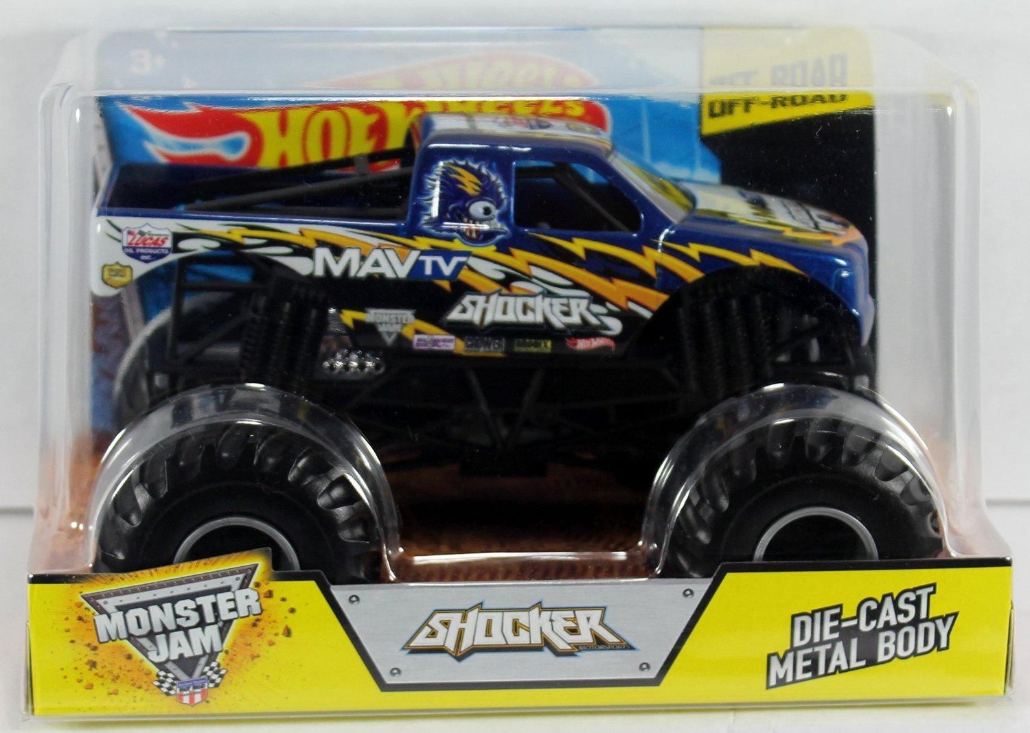 Hot Wheels Monster Jam 1:24 Scale Shocker Vehicle