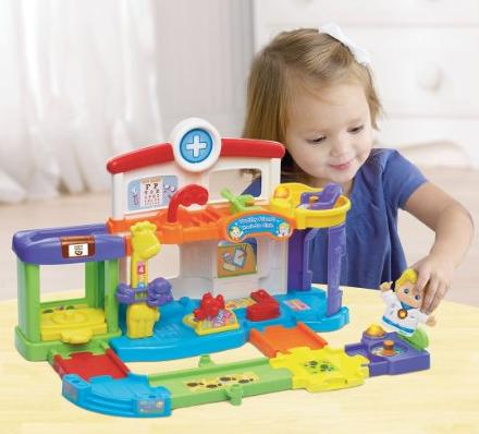 VTech Go! Go! Smart Friends Healthy Friends Check-up Clinic @ Amazon