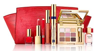 $37.5 Estee Lauder The Ready In Red Makeup Collection ($145 Value)