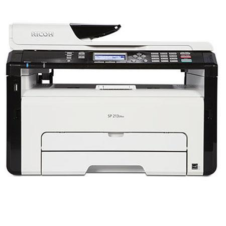 Ricoh SP 213SNw 3-In-1 Monochrome Multifunction Wireless Laser Printer 407630