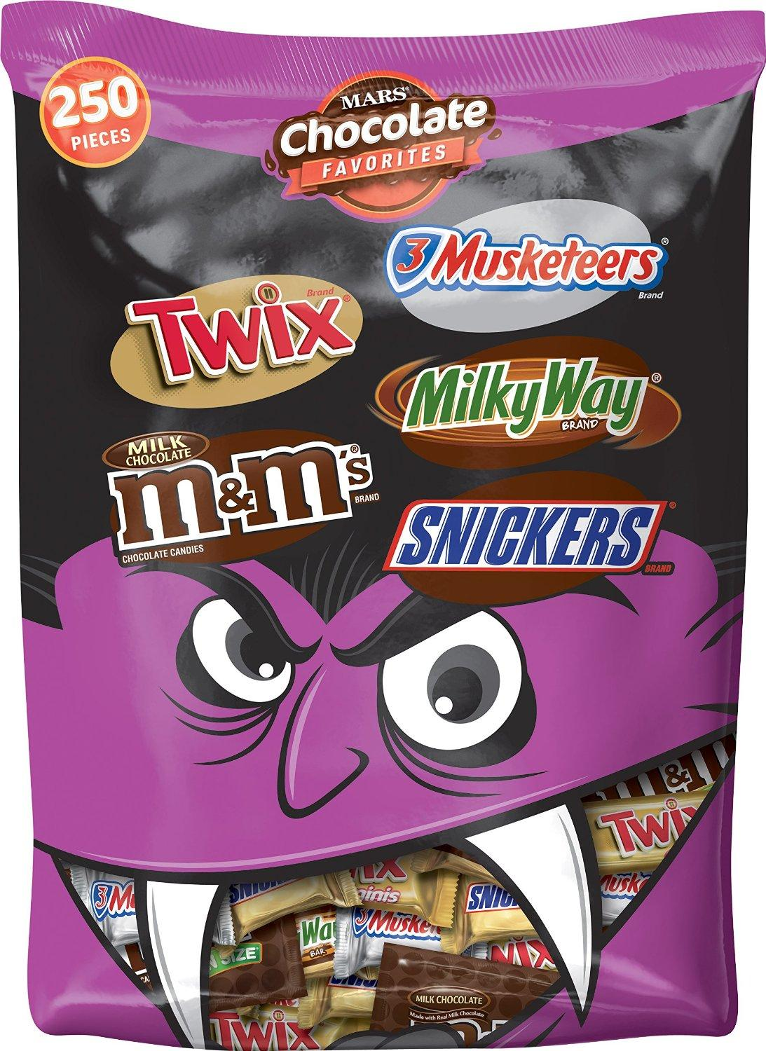 $6.77 Mars Chocolate Halloween Candy Variety Mix 96.2oz