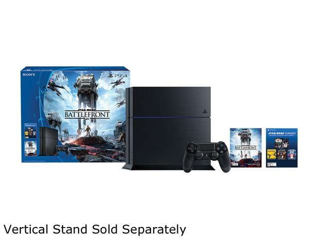 PlayStation 4 Console The Star Wars Battlefront 500GB Bundle