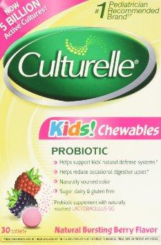 Culturelle Kids Chewables Probiotic, 30 ct