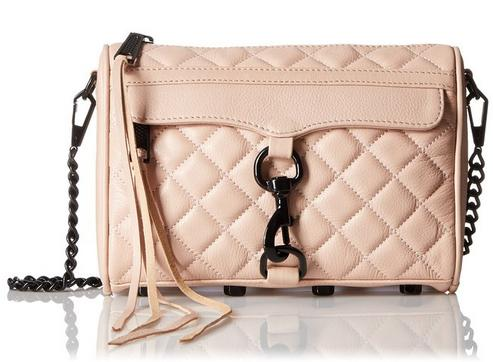 From $84.85 Rebecca Minkof fQuilted Mini Mac Cross-Body Bag