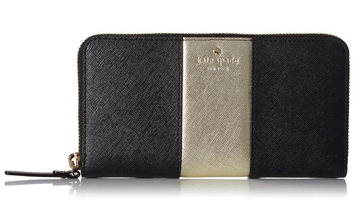 kate spade new york Cedar Street Racing Stripe Lacey Wallet