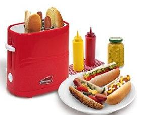 Elite Cuisine ECT-304R MaxiMatic Hot Dog Toaster