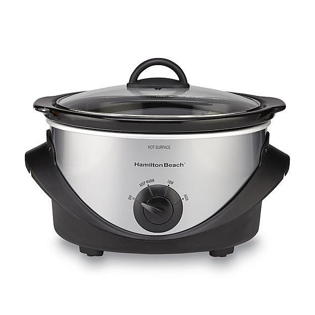 4-Qt. Hamilton Beach Oval Slow Cooker