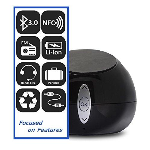 TechMatte Sound Pod Bluetooth Speaker (NFC Capability)