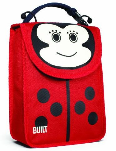 BUILT NY Big Apple Buddies Insulated Lunch Sack, Lafayette Ladybug (BAB1-LBG) @ Amazon