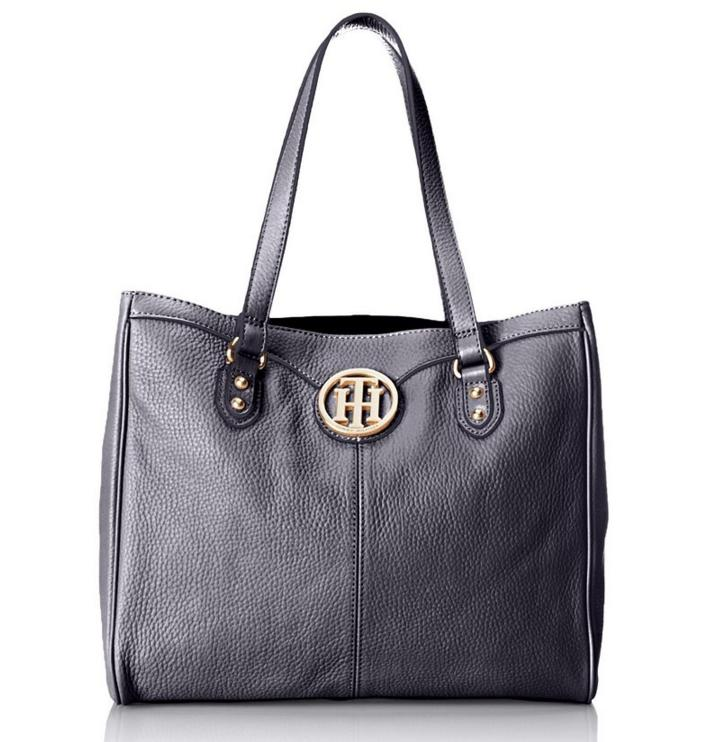 Tommy Hilfiger Maggie Pebble Tote Top Handle Bag