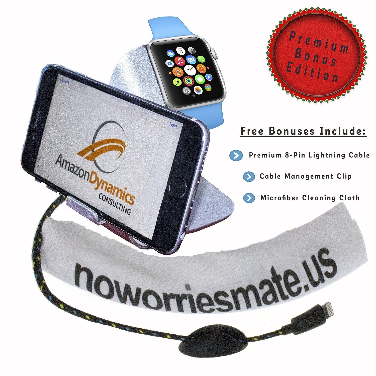 Free Noworriesmate Apple Watch & iPhone Charging Stand