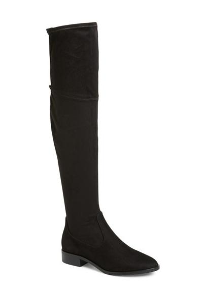 Ivanka Trump 'Livi' Faux Suede Over the Knee Boot @ Nordstrom