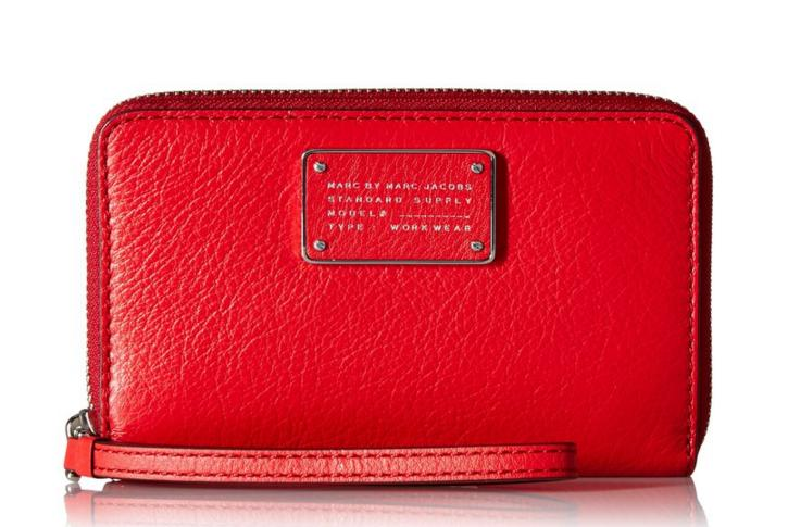 $72.52 Marc by Marc Jacobs New Too Hot To Handle Wingman Wristlet