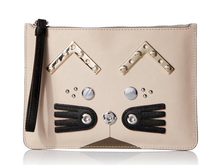 $47.33 Marc by Marc Jacobs Screwed Up Faces Gato Wristlet Zip Pouch Coin Purse