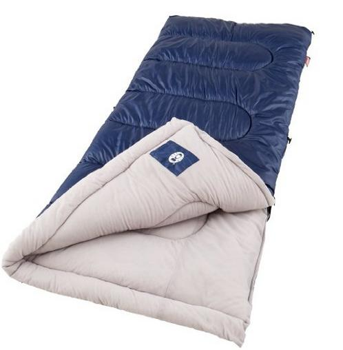 Lowest price! Coleman Brazos Cold-Weather Sleeping Bag