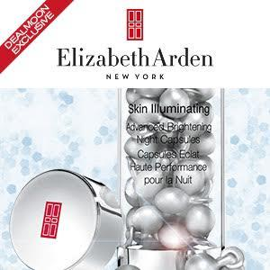 Dealmoon Exclusive! 20% Off + 12 Free Full-Size Night Capsule Serum Sampleswith ANY $80+ Order @ Elizabeth Arden