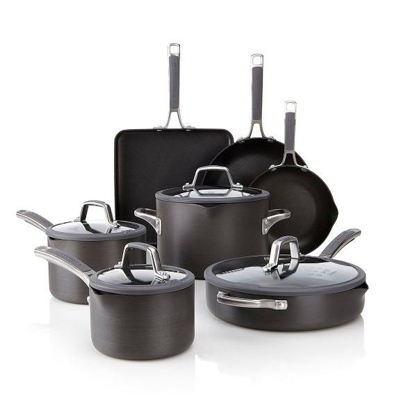 Calphalon Simply Calphalon Easy System Nonstick, Set 11-Piece, Aluminum
