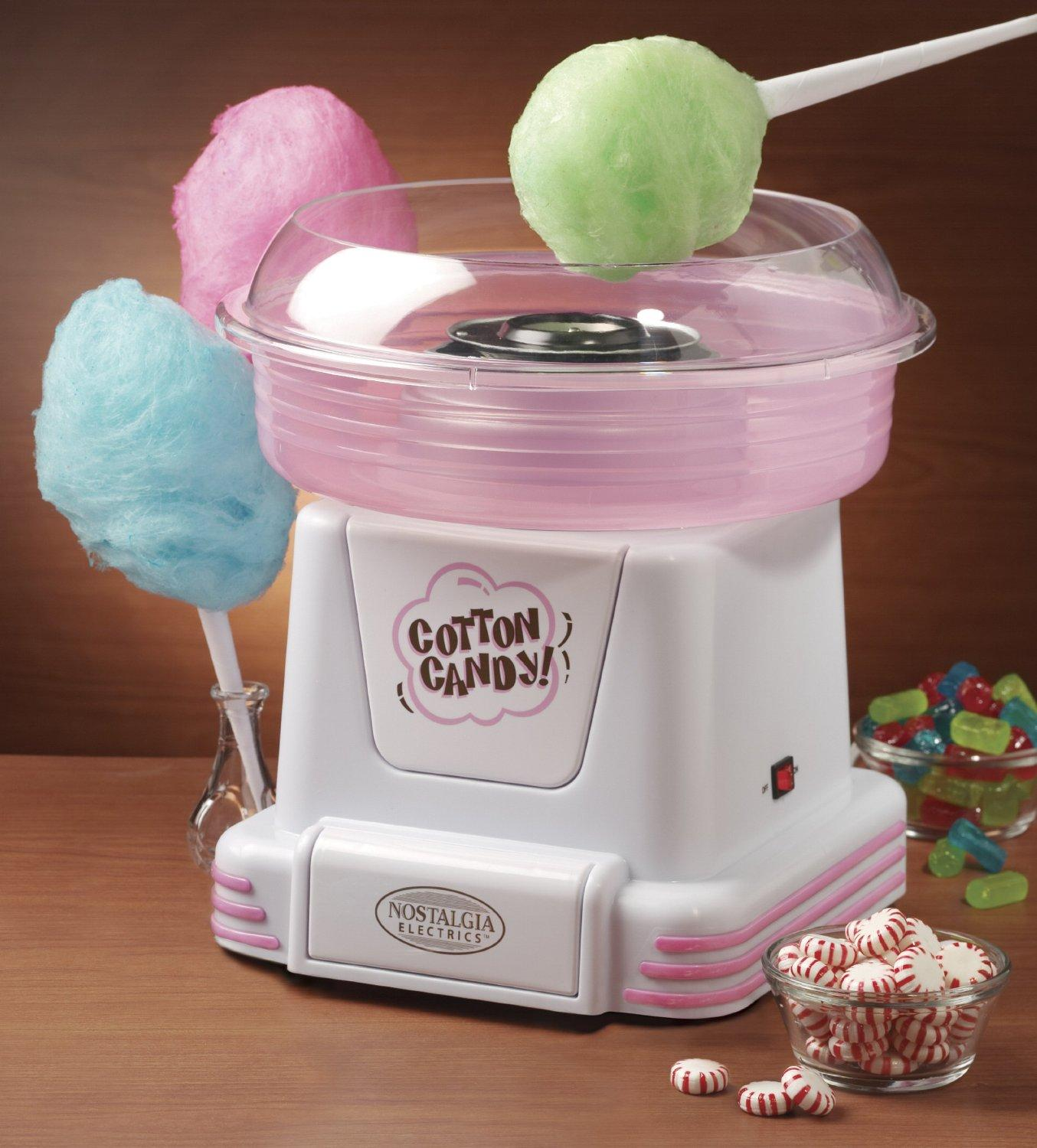 Nostalgia Electrics - Hard Candy Cotton Candy Maker