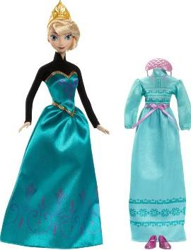 Disney Frozen Coronation Day Elsa Doll @ Amazon