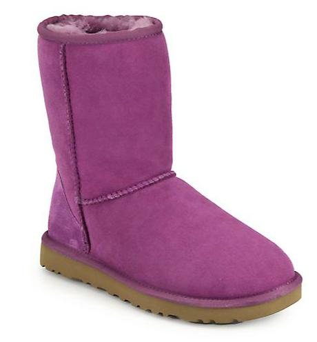UGG Australia Classic Short Sheepskin Boots @ Saks Fifth Avenue