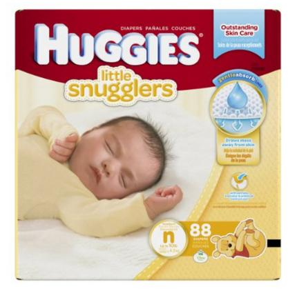 Extra 30% Off Select Huggies Little Snugglers Diapers @ Amazon