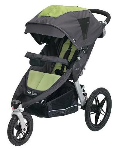 Graco Relay Click Connect Performance Jogger, Lynx @ Amazon