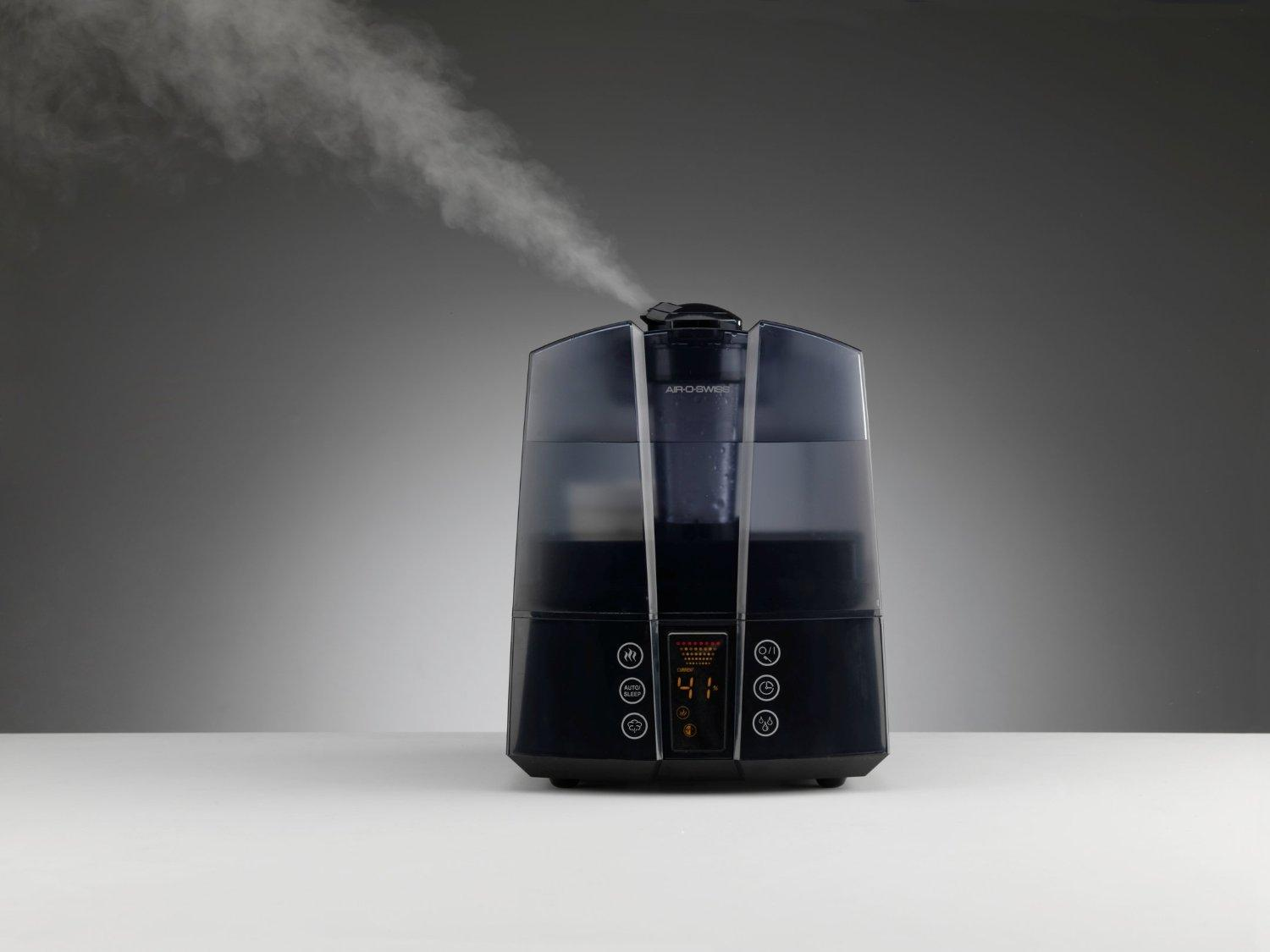 Air-O-Swiss AOS 7147 Ultrasonic Humidifier - Warm and Cool Mist