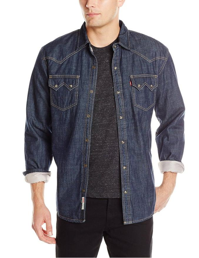 Levi's Men's Heywood Denim Long Sleeve Shirt
