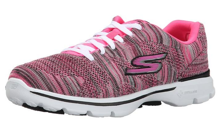 Skechers Performance Women's Go Walk 3 Lace-Up Walking Shoe