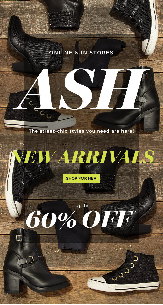 Up to 76% Off Ash On Sale @ Saks Off 5th