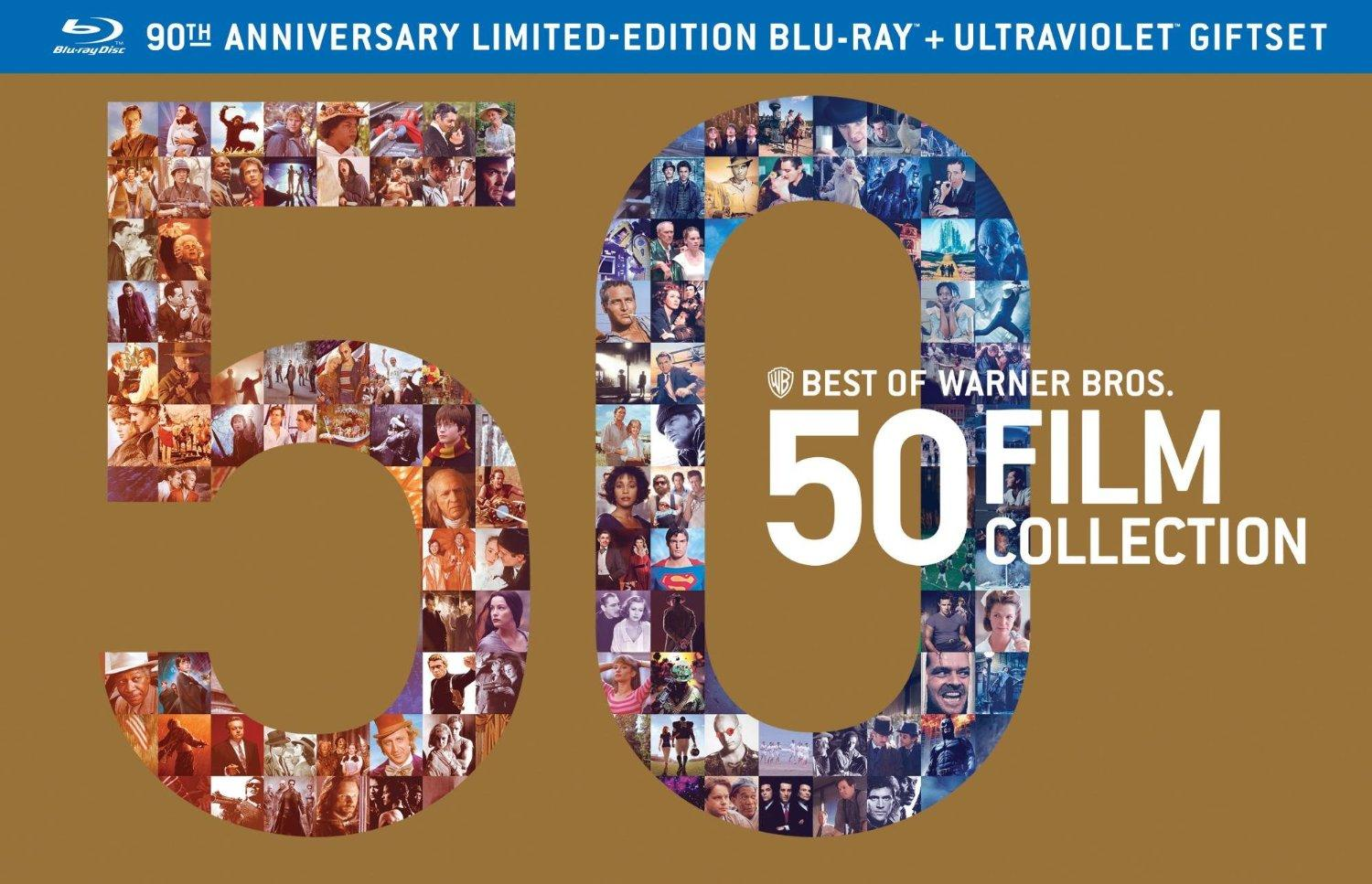 $89.99 Best of Warner Bros 50 Film Collection (+UltraViolet Digital Copy) [Blu-ray]