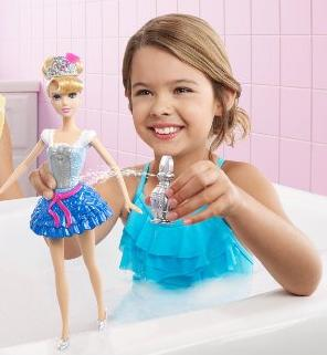 Disney Princess Bath Cinderella Doll @ Amazon