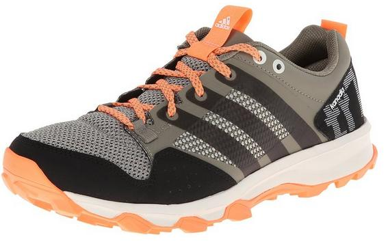 adidas Performance Women's Kanadia 7 Trail Running Shoe, Clay/Chalk/Flash Orange