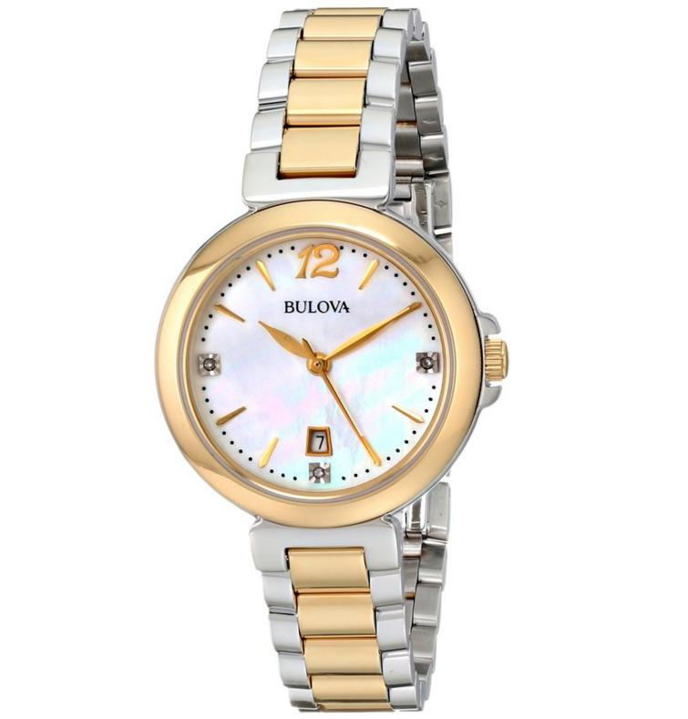 Bulova Women's 98P142 Diamond  Japanese Quartz Watch