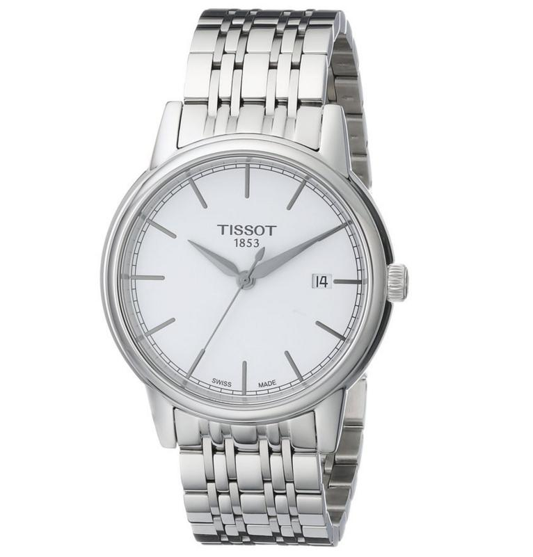 Tissot Men's T0854101101100 Carson Swiss Quartz Silver Watch