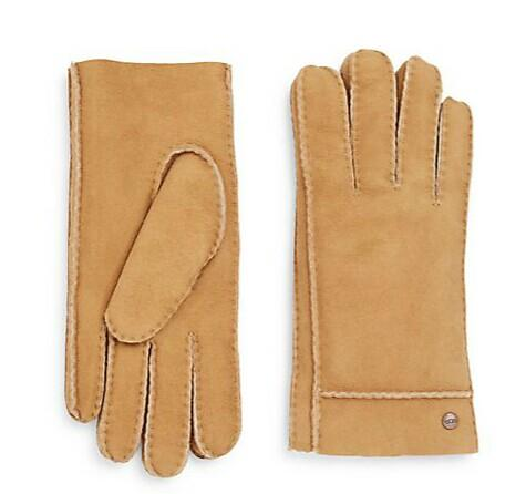 UGG Australia Shearling Suede Gloves @ Saks Off 5th