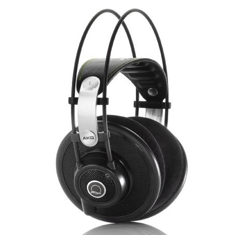 AKG Q701Premium Class Reference Headphones, Quincy Jones Signature Line