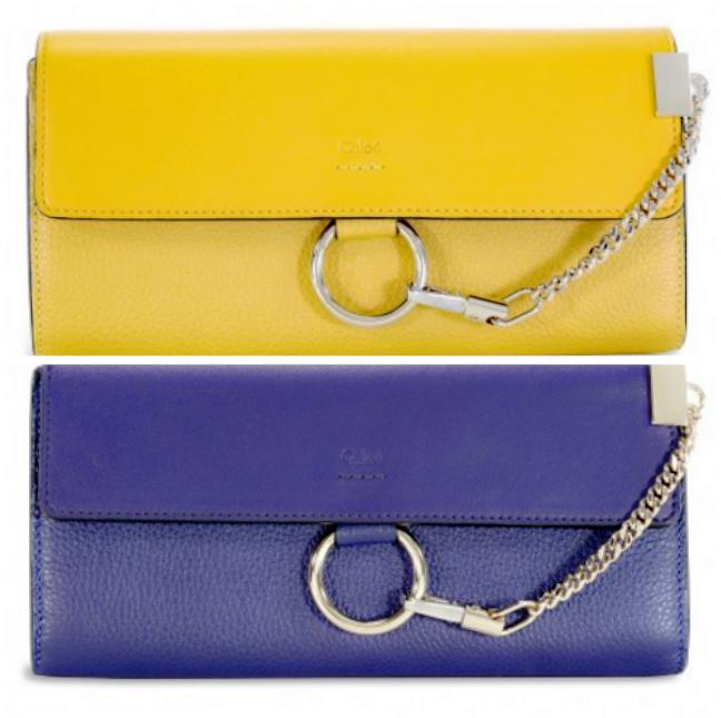 CHLOE Faye Leather Wallet@JomaShop.com