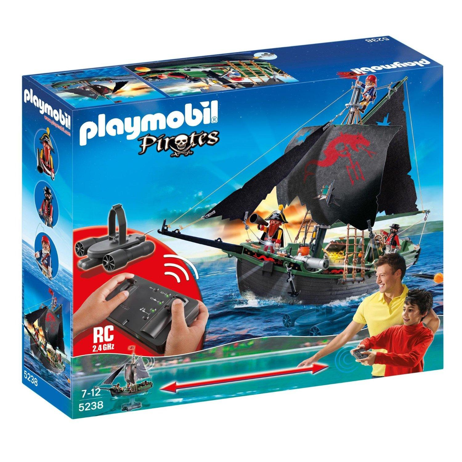 $54.48 PLAYMOBIL Pirates Ship with RC Underwater Motor