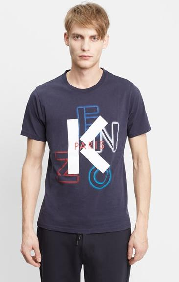 KENZO 'Paris Scatter' Graphic T-Shirt On Sale @ Nordstrom