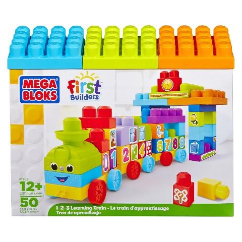 Mega Bloks First Builders 123 Learning Train!