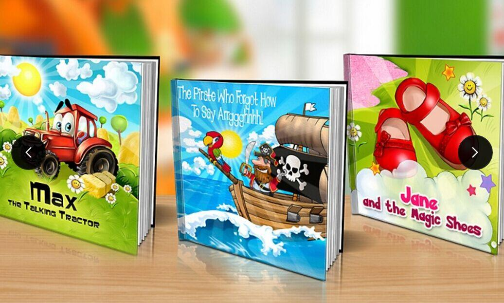 From $9 One Personalized Softcover or Hardcover Children's Book Voucher