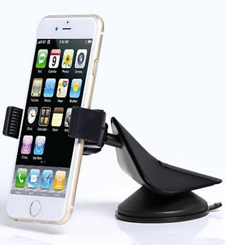 Lighning Deal Zilu Car Mount Dashboard and Windshield Phone Holder