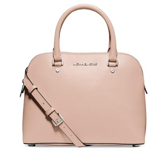 MICHAEL Michael Kors Cindy Medium Dome Satchel @ Macy's